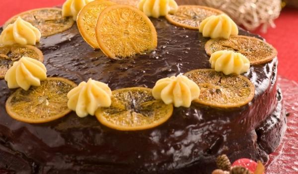 Торта с портокали