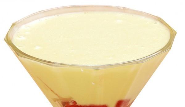 Желиран ягодов крем