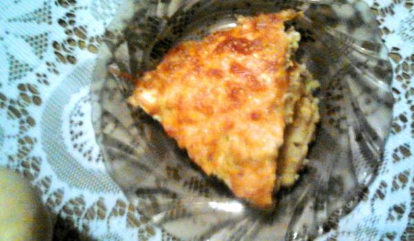 Огретен със сирене и кашкавал