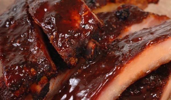Свински ребърца с меден сос