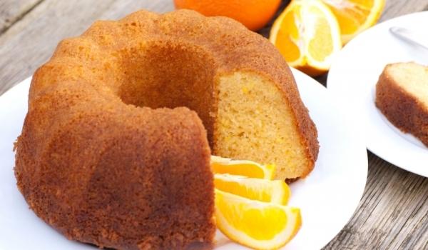Кекс с портокал