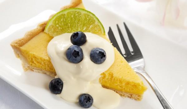 Пай с лимонов крем