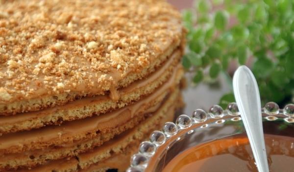 Руска медена торта по старинна рецепта